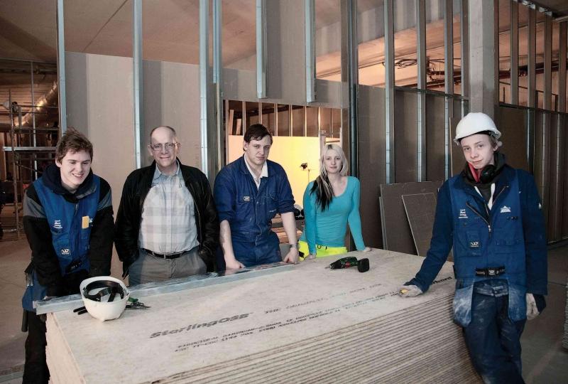 Stor byggejobb i Herøy kyrkje